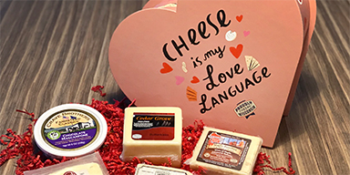 Elite Daily - This Heart-Shaped Wisconsin Cheese Box Giveaway for Valentine's Day 2021 is Amazing