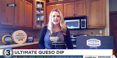 Angie Edge Shares Super Bowl Recipes Using Wisconsin Cheese