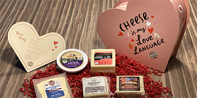 Shape.com - This Heart-Shaped Cheese Box is the Only Gift Your Partner Will Want This Valentine's Day