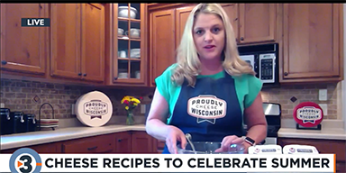 Angie Edge Shares Cheese Recipe to Celebrate Summer