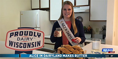 Alice in Dairyland Makes Butter