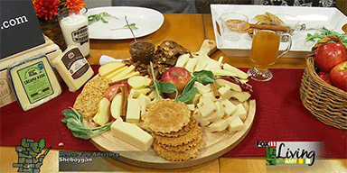 Fox 11 News: Autumn Apple Cheeseboard