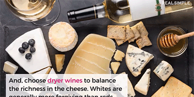 Real Simple: The Only Wine & Cheese Pairing Cheat Sheet You Need