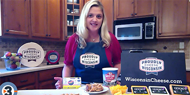 Making Wisconsin Cheddar Apple Pie Bars