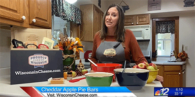Apple Cheddar Bars